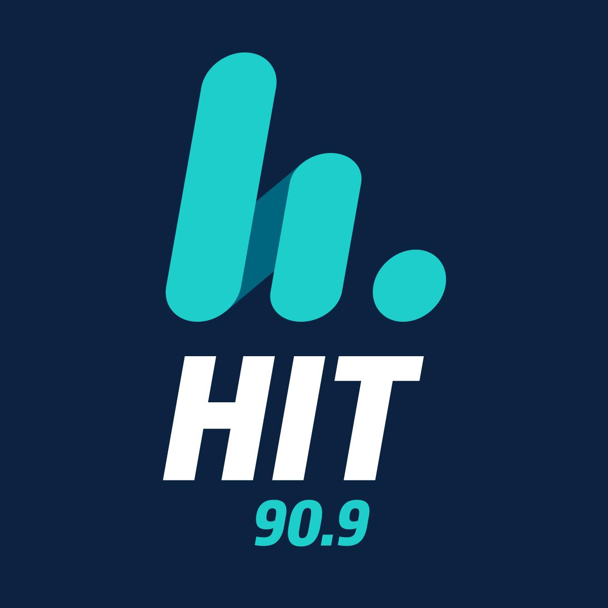HIT 90.9 logo