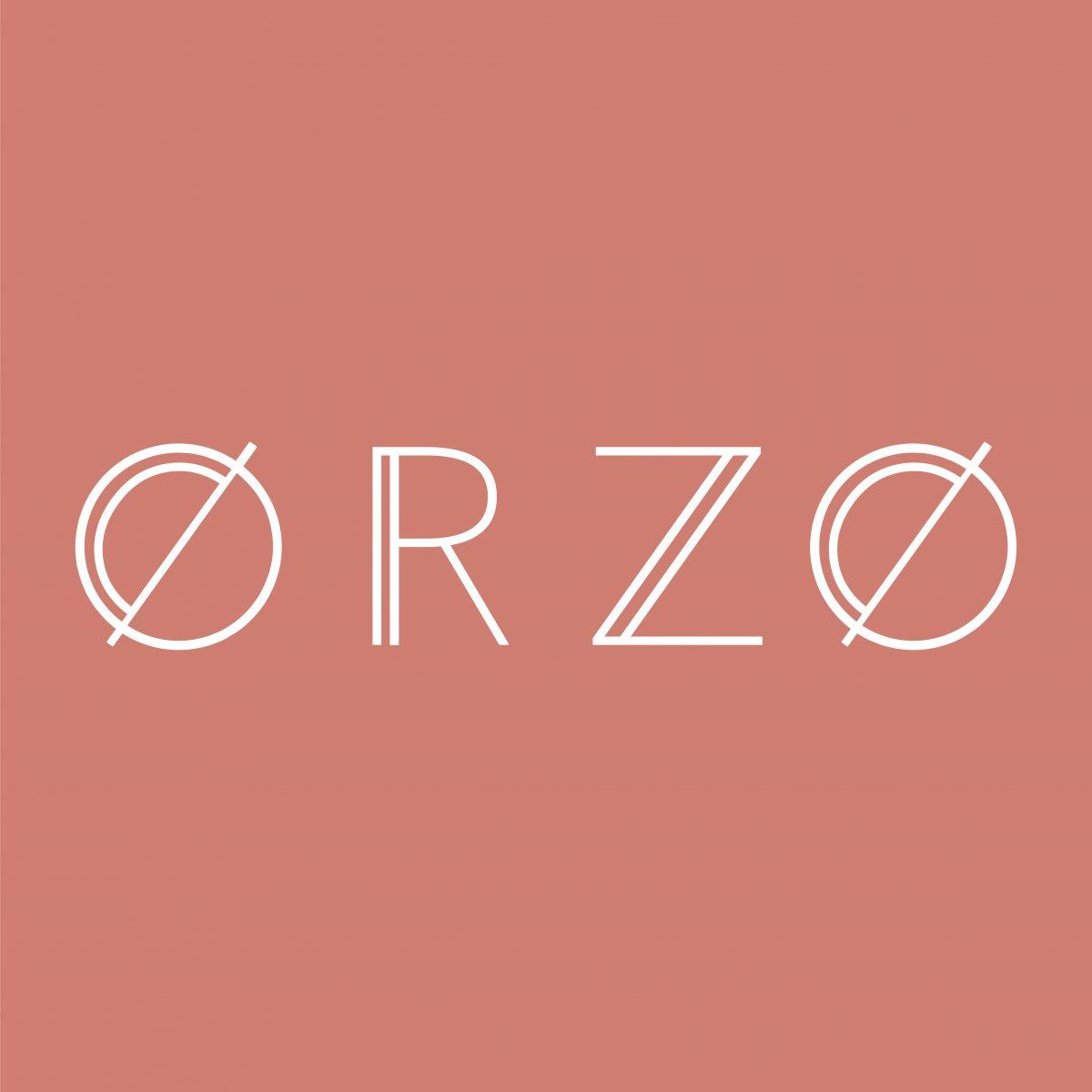 orzo logofiles Landscape White on Nude